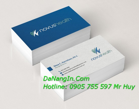 In Card Visit Danh Thiếp Name Card Giá Rẻ 0905 755 597 Mr Huy