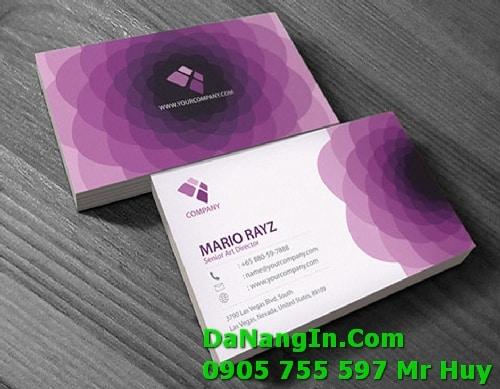 In Card Visit Lấy Liền Giá Rẻ Tại Đà Nẵng In