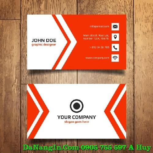 kinh nghiệm in name card visit danh thiếp tại đà nẵng0905 755 597 A Huy