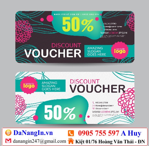 in voucher thẻ tích điểm giảm giá tại đà nẵng,LH 0905 755 957 A Huy - danangin.vn,in đồng phục áo lớp,làm áo quán nhậu,in áo theo yêu cầu,xưởng in lụa hòa mỹ