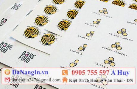 nhãn dán sản phẩm handmade tại liên chiểu 0905 755 597 A Huy